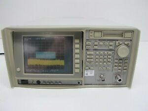 Advantest R3465 Spectrum Analyzer 9khz To 8ghz Opt 09 15 61 73 76