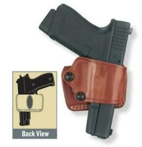 Gould Goodrich Yaqui Slide Holster Brown 801 92f For Glock 17 19 22 23 24 26 27