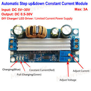 3a Dc dc Boost Buck Step up Down Constant Voltage Current Power Supply Module