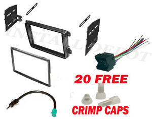 Complete Vw Car Stereo Radio Install Kit Dash Wire Harness Antenna Adapter