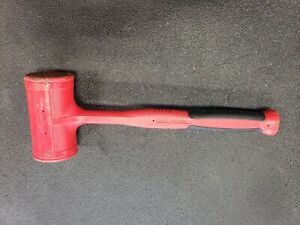 Used Snap On 56 Oz Dead Blow Soft Grip Hammer Mallet Hbfe56