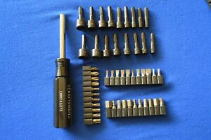 Craftsman New 51 Pc Magnetic Handle Nut Driver Screw Bits Ts 377