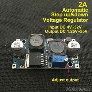 Automatic Mini Step up Down Module 3 3v 5v 9v 12v 24v Volt Regulator Solar Car