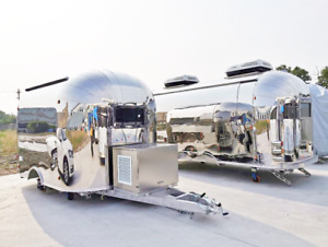 10 Mobile Food Cart Trailer made To Order Stainless Steel Custom Food Truck