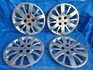 2009 2010 Chevrolet Chevy Cobalt 15 Hubcaps Wheel Covers Set Of 4