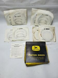 John Deere Nos Piston Ring Set At14706t At12085 2010 740 540 640 670 770 6081