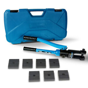 Temco Hydraulic Crimper For Stainless Steel Cable Fittings From 1 16 1 4