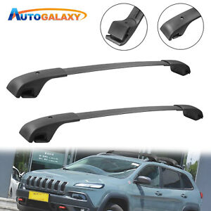 Pair Cross Bars Roof Rack For 14 20 Jeep Cherokee Aluminum Cargo Luggage Carrier