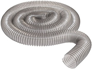 2 1 2 X 10 Clear Pvc Dust Collection Hose By Peachtree Woodworking Pw367