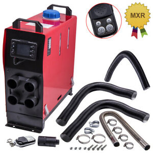 8kw 12v Air Diesel Heater W 4 Holes Lcd Monitor All In One For Car Truck Bus