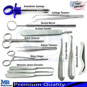 Dental Surgical Veterinary Instruments Aesthetic Syringe Dentist Lab Surgery