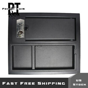 For 2014 2020 Toyota Tundra Set Accessory Center Console Safe 00016 34174