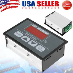 Dc Motor Speed Governor 6 60v Pwm Module 30a Digital Controller Switch 0 100