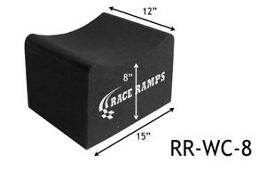 Race Ramps 8 Tall Wheel Cribs Lightweight Jack Stands Or Display Stand Rr wc 8