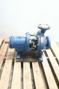 Goulds 3196 Centrifugal Pump 3in 200gpm 181ft 6 3 4in 1 1 8in 2in