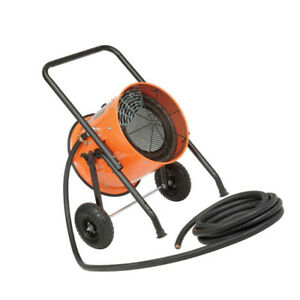 Global Industrial Salamander Heater Portable Electric 208v 15 Kw 3 Phase With