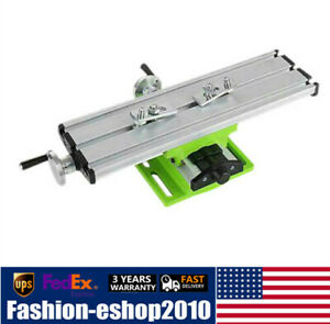 Mini Milling Machine Worktable Drill Vise Table X Y Axis Cross Side Drill Bench