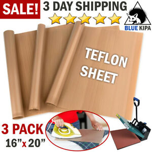 Teflon Sheet For Iron Heat Press Transfer Paper Art Craft Supply Sewing Tool Add