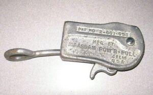 Vintage Maasdam Pow r pull Cable Wire Rope Puller Made In Ca Usa