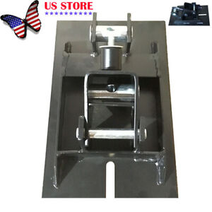 1 2ton Trolley Transmission Jack Adapter For Floor Jack W saddle Hole Adjustable