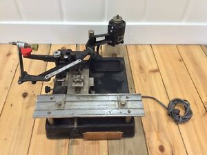 New Hermes Inc Engravograph Engraving Machine 354 Working W diamond Tip used