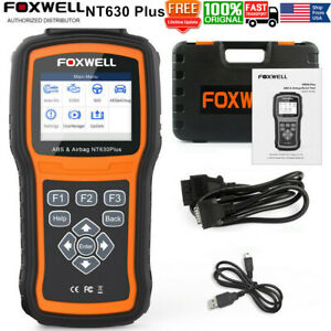 Foxwell Nt630 Plus Abs Srs Sas Reset Obd2 Scanner Code Reader Diagnostic Tool
