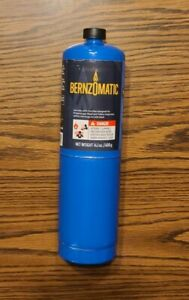 Bernzomatic 14 1oz Disposable Propane Gas Fuel Cylinder Tank Canister