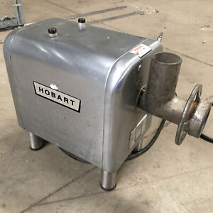 Hobart 4812 Meat Grinder Chopper Commercial Equipment Missing Attachment