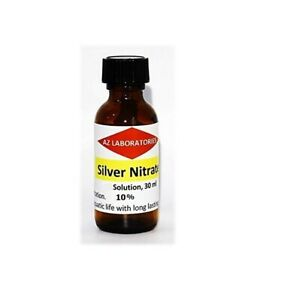 Silver Nitrate Solution 10 1 Fl Oz usa Finest Quality