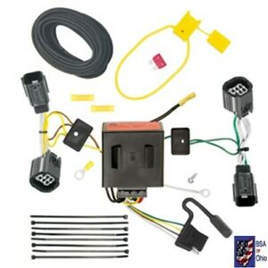 Trailer Tow Harness Hitch Wiring For 2011 2012 2013 2014 Dodge Grand Caravan