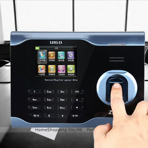 Zk U160 3 Biometric Fingerprint Attendance Time Clock Wifi tcp ip usb Us