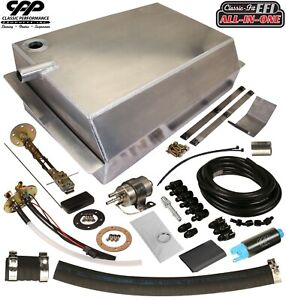 1963 66 Chevy C10 Gmc Fuel Injection Efi Aluminum Gas Tank Kit Side Fill 90ohm