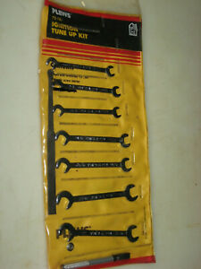 New 9 Pc 0pen End Ignition Wrench Set 13 64 Thru 3 8 Plews 72 187