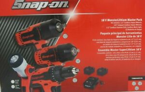 Snap On Ck8850sfcpk Ct8850 Ct8810b 18v 1 2 3 8 Drive Cordless Impact 2 Battery