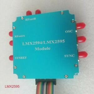 Lmx2595 Module Frequency Synthesizer Pll 10m 20ghz Microwave Signal Source
