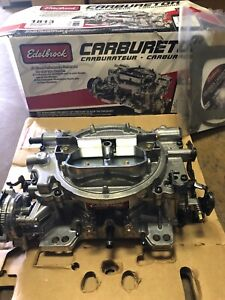 Carburetor Thunder Series Avs Edelbrock 1813