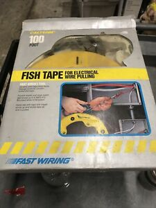 Cal Term Fish Tape For Electrical Wire Pulling 100 Foot 28