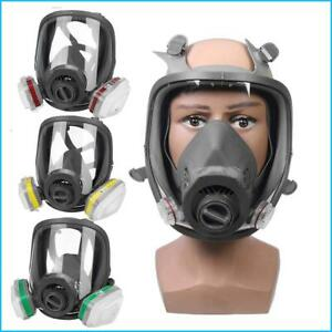 Safety Gas Mask Painting Spraying Full Face Multiple Combinations Protection New