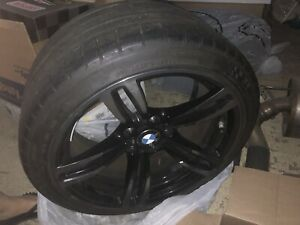 4 Bmw 437m Wheels With Michelin Pss Tpms Included 3series M2 3 4