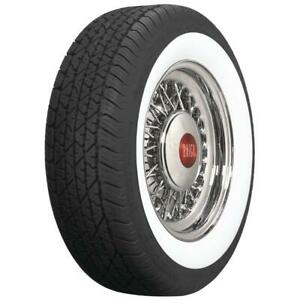 Coker Tire 579403 Bf Goodrich Silvertown Whitewall Radial 205 75r 15
