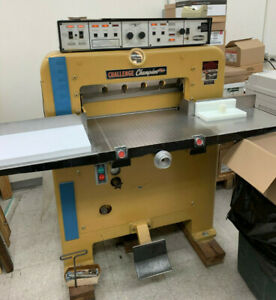 Challenge 230 Mcm Programmable Paper Cutter