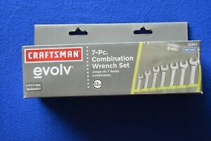 Craftsman Evolv 7pc Metric Combination Wrench Set With Pouch 12353 Ts402