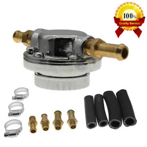 Car Universal Adjustable 8mm 10mm Hose Fuel Pressure Regulator 1 5 Psi Us Seller