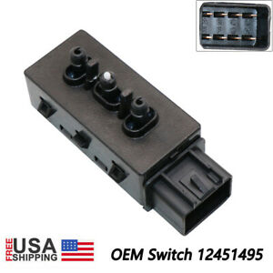 Genuine Power Seat Switch Front Lh 12451495 For Gm Chevy Cadillac Buick Gmc Usa