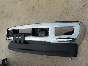 2017 2018 2019 Ford Super Duty F250 Factory Chrome Front Bumper F350 911g