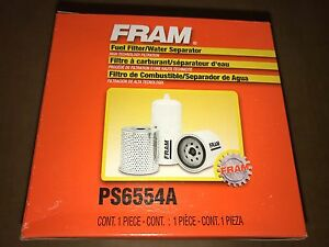 Fram Ps6554a Spin On Fuel Diesel Filter Water Separator