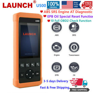 Launch Check Engine Obd2 Scanner Transmission Abs Srs Code Reader Diagnostic