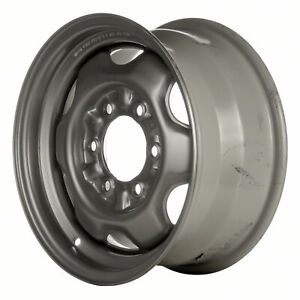 62367 Oem Reconditioned Steel Wheel 15x7 Medium Silver Sparkle Full Painted