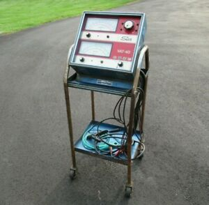 Sun Vat 40 Vat 40 Charging And Testing Station With Rolling Stand And Cables