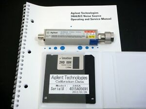 Agilent 346a 10mhz 18ghz Noise Source